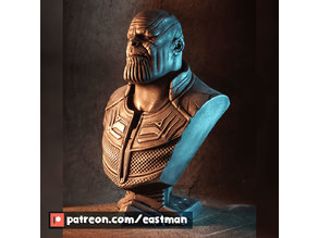 Infinity War Thanos bust (fan art)