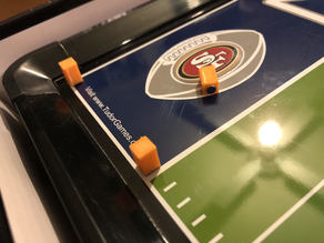 Electric Table Football Pylons, Passing Sticks, Footballs, Yard Markers, Down Marker
