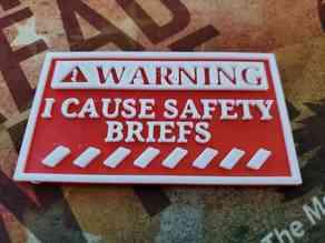 I cause safety briefs