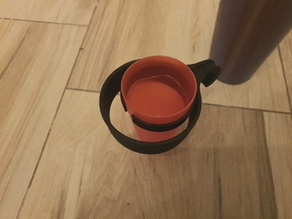 Multi-size cup holder for a bike