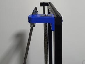 Geeetech A30 back frame braces - Z stabilizer - M8 M10