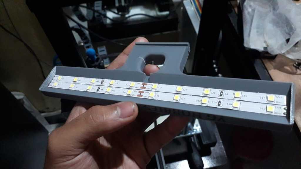 Ender 3 LED light stand