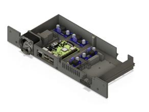 Ender 3/Pro Case [EZABL, BLTouch, Raspberry Pi 3, Mosfet]
