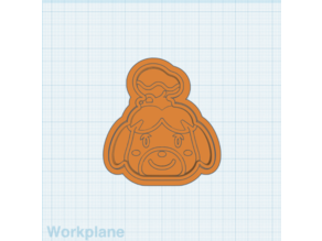 Animal Crossing Isabelle Cookie Cutter