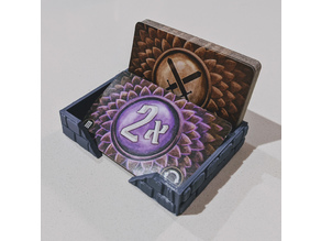 Compact Gloomhaven Attack Modifier Deck Tray