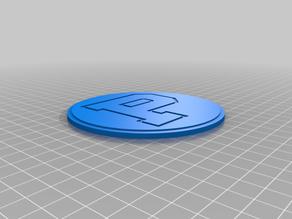 Principia College Logo Coaster