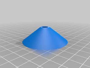 Sanding disk drill mount (openscad)
