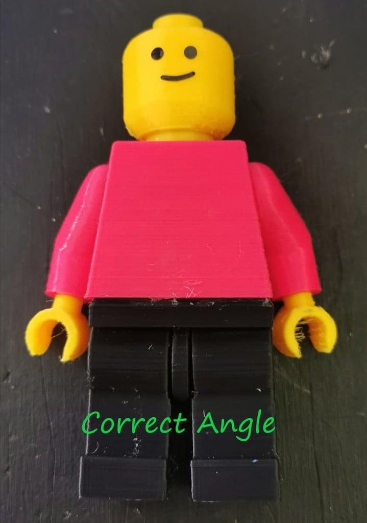 Lego Minifigure (papajohnfuller) Correct arms