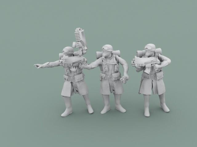 Legion Of Metal Squadleaders