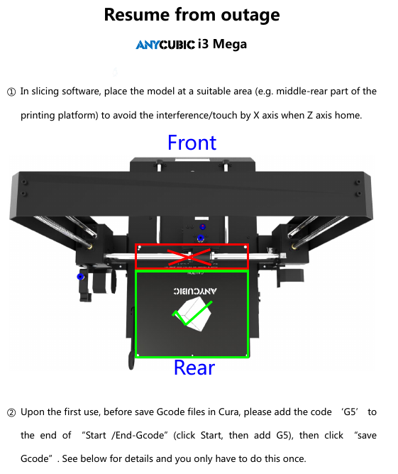 Forums - Anycubic i3 Mega - Groups - Thingiverse
