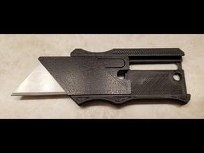 Retractable Razor Blade Utility Knife