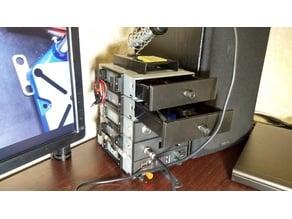 Cassette box from CD-ROM housing