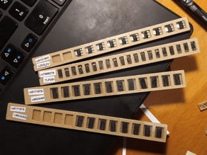 SOIC-14 12 pieces SMD component storage