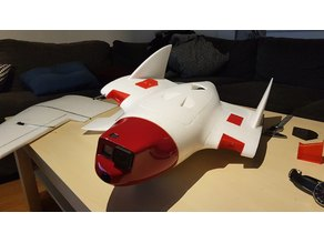 RVJET nose for GoPro and FPV camera
