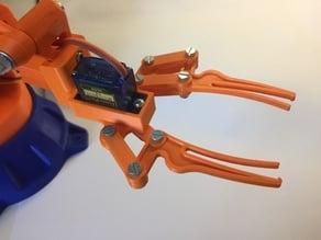 Modified gripper for EEZYbotARM MK2