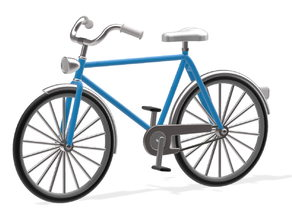 Bike 1:87 H0 / HO scale
