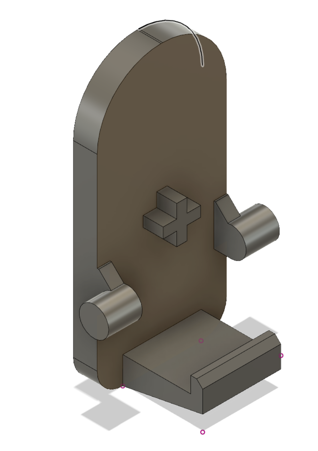 Hoover Quick stick vacuum bin clip