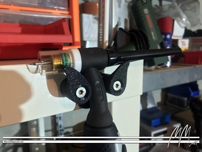 Wall Holder for a TIG torch (WIG Brenner Wandhalter)