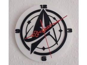 Star Trek Clock V 1