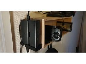Wallmount for charger for DJI Mavic Air