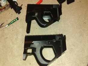 Rail Cover For Airsoft PDW 19