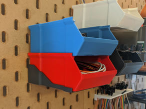 IKEA Skadis Shelf for Stackable Box