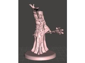 Female druid (mage)