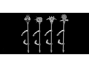 Saurian Skinks Two Arms Maces
