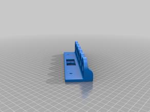 Screwdriver 6pcs holder for screws or peg board