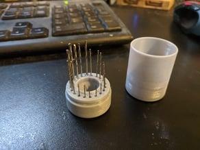 Pin Vice 20 piece bit holder