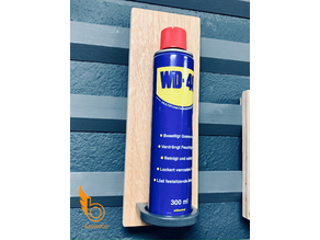 Halter WD40 Dose für frenchcleat