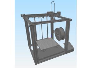 Ender 5 STL file for custom bed in simplify3d