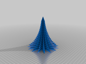 Spiky Christmas Tree (Holed)