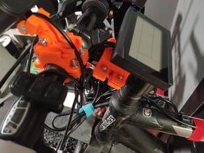 KT-LCD3 Display Ebike Center Holder Mount Max 32mm