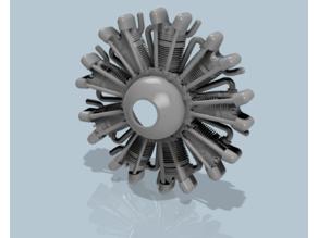 Dummy_9_Cylinder_Radial_Aero_Engine V2