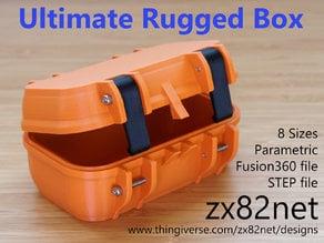 zx82net Ultimate Parametric Rugged Box - Snap Closure