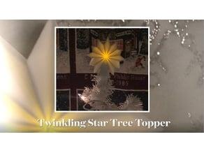 Twinkling Star Tree Topper