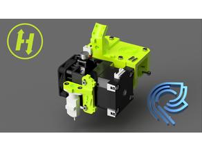 HevORT - Advanced DIY 3D Printer - X carriage E3D Hemera