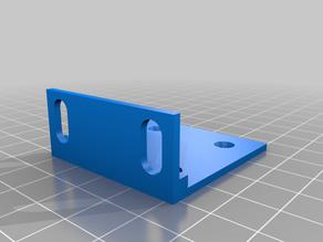Switch mounting bracket for MikroTik
