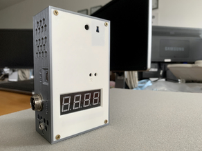 Temperature, humidity, lux meter with LAN