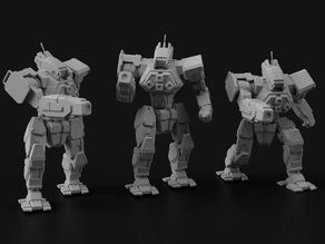 WLF-1 Wolfhound for Battletech