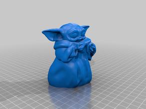 Baby Yoda with Heart