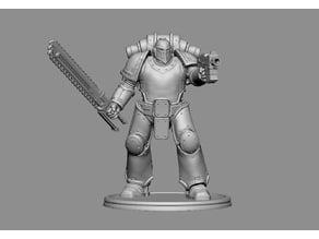 Giant Armoured Warrior