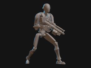 Commando Droid Miniatures