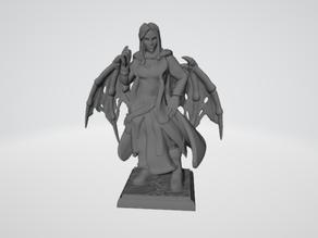 RPG Miniature - Fallen Aasimar