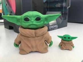 Baby Yoda (Multi-Part Print)