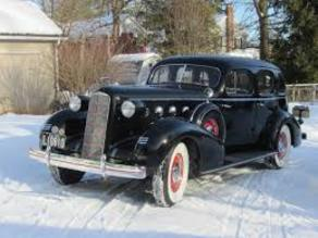 Cadillac LaSalle Series 50 Sedan 1935 V2