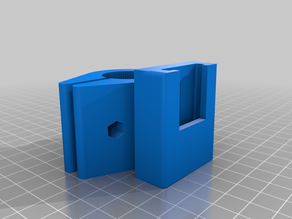 round adapter for Filler - The Customizable Filament Holder