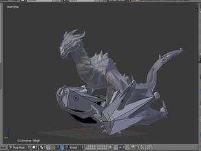 Skyrim Dragon - Posable