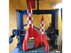 Tintin Rocket stronger and accurate model